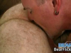 bear, tattoo, gay, threesome