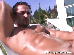 See: Latin hunk steamy outd...