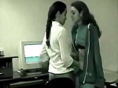 Cute lesbian indian te... video