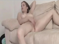 Private Home Clips Movie:Gorgeous angel rubs cunt and c...