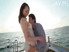 PornoXO Movie:Hot babe on a yacht