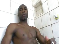 Thumb: Ebony thug whacking of...
