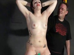 Ah-Me Movie:Throat whipping and erotic tor...
