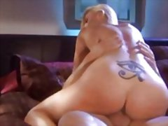 Sharon is a hot blonde video