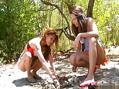 Glamour cowgirl public... video