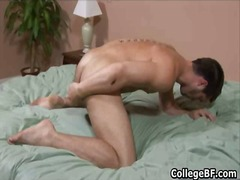 BoyFriendTV Movie:College hunk adam marx stuffin...