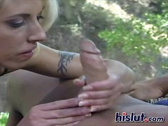 fingering, outdoors, lesbian, blonde