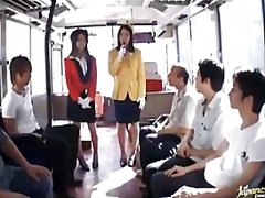 See: Japanese bus girls in ...