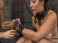 Yobt Movie:Sexy bondman delights about de...