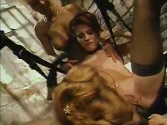 Three lesbians are way... video