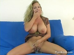 Amber the big titty milf