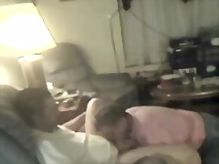 Private Home Clips - Granny gobbles up youn...