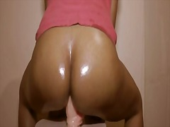 homemade, orgasm, ass, milf, dildo,