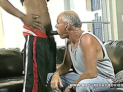Old Guy Gets Fucked By... video