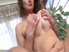 mature, wife, brunette, solo, masturbation, older, stockings, amateur, pussy, mom