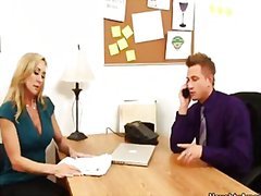 Brandi love is a horny... video