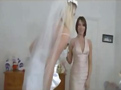 Thumb: Bride and her maid of ...