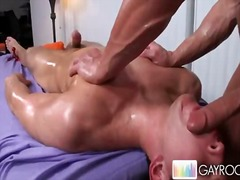 Oiled buddy gets ...