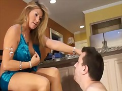 Dominant blonde foot w... preview
