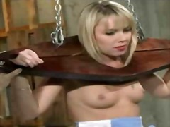 Racked spanked and clamped