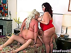 Massive babes in three... video