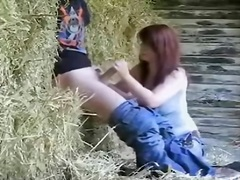 Teens Fuck In A Hayloft