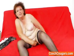Nuvid - Fat milf intense solo