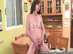 hairy, milf, tits, gaping, british, mature, old, saggy, skinny, grandma, small tits, masturbation, fingering