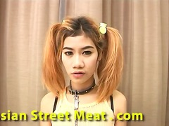 Barking asian hooker
