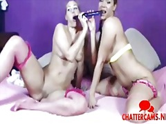 See: Blonde hotties one toy...