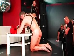 Alpha Porno Movie:Mistress humiliates sub in fro...
