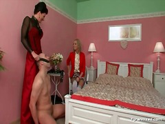 He is teased by the mistress he cannot fuck