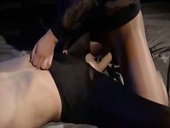 IcePorn Movie:Blindfolded woman gets fuck by...