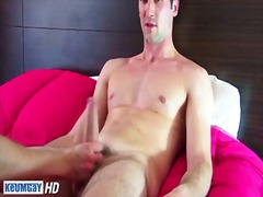 See: Sexy hunk whacking off...