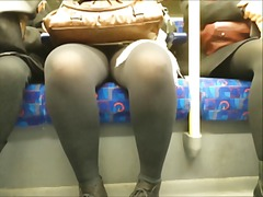 Thumb: Black tights everywhere