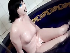 Living latex blow up doll - Xhamster