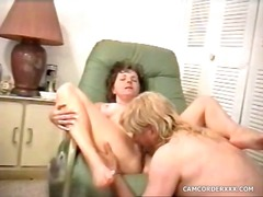 mature, homemade, pussy, eating,