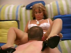 Curvy mature blonde ge... video