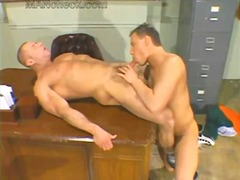 Raunchy dude gets ass ... preview