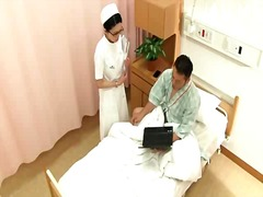 Titty japanese nurse making out