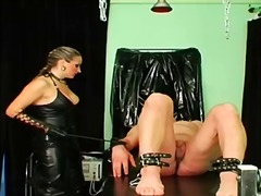 Mistress abuses his as... video