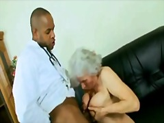 interracial, granny,