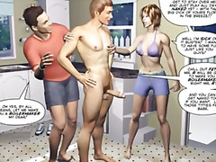 Desperate husbands 3d ... preview