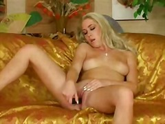 Thumb: Seductive blonde babe
