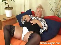 granny, mature, natural, blonde,
