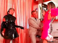 Alpha Porno Movie:Latex is sexy on these two dom...