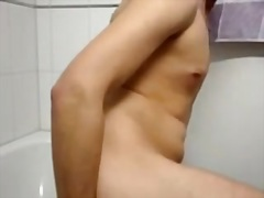 Butthole and jerking off - Private Home Clips