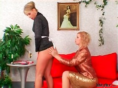Alpha Porno Movie:Mistress inspects the tight as...