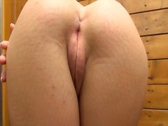 Lucy showing her gaped... video