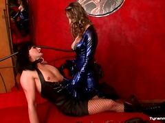 Alpha Porno Movie:Latex mistress dominates the s...